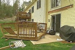 Deck collapse - DuPage County, Illinois